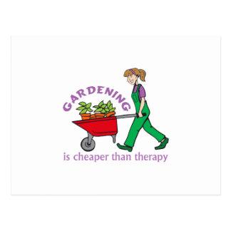 Gardening Postcard