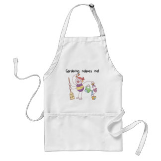Gardening Relaxes Me Tshirts and Gifts Adult Apron