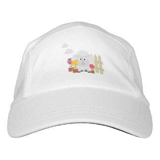 Gardening Sheep with flowers Z67e8 Headsweats Hat