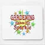 Gardening Sparkles Mouse Pad