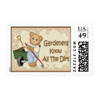 Gardening Tips #2 Postage Stamp