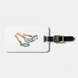 Gardening Tools Luggage Tags