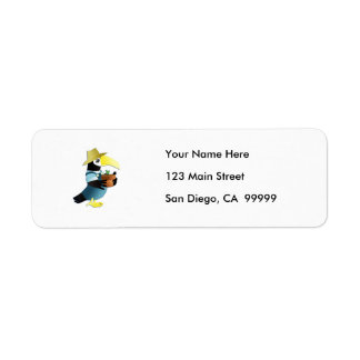 Gardening Toucan Bird Label