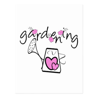 Gardening Tshirts and Gifts Postcard