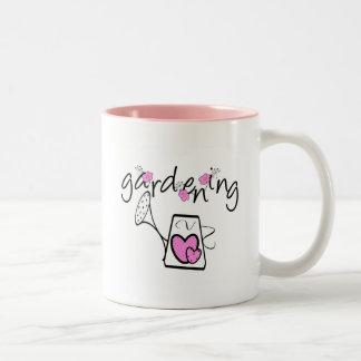 Gardening Tshirts and Gifts Two-Tone Coffee Mug