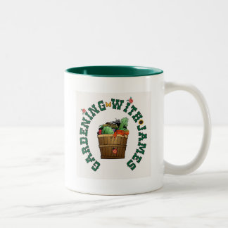 Gardening with James Two-Tone Coffee Mug
