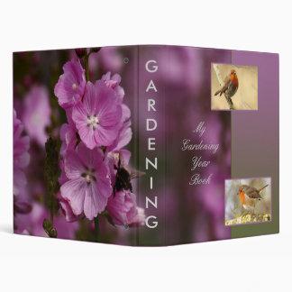 Gardening Year Book Template Avery Binder