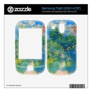 Gardenpath in Mezy by Berthe Morisot Samsung Flight Skin