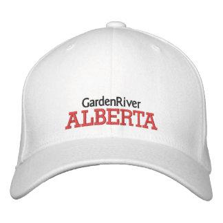 GARDENRIVER, ALBERTA CANADA HAT EMBROIDERED HAT