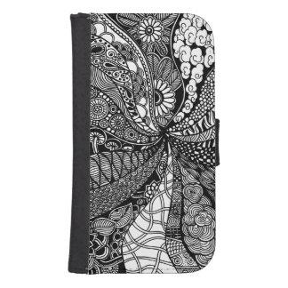 Gardens #6 Samsung Galaxy S4/iPhone wallet case