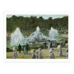 Gardens and Fountains, Versailles France Vintage Postcards
