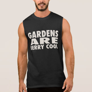 GARDENS ARE BERRY COOL SLEEVELESS SHIRT
