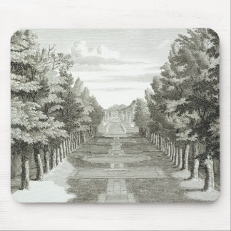 Gardens at Tshehar-Bagh, Isfahan, from' Voyages du Mouse Pad