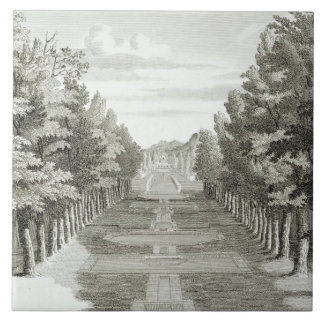 Gardens at Tshehar-Bagh, Isfahan, from' Voyages du Tile