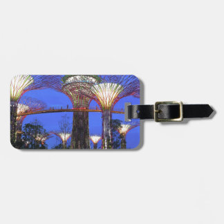 Gardens by the Bay Singapore eco park Luggage Tags