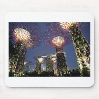 Gardens by the Bay Singapore eco park Mouse Pad