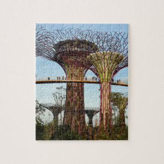 Gardens by the Bay Singapore environmental Jigsaw Puzzle