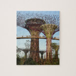 Gardens by the Bay Singapore environmental Jigsaw Puzzles
