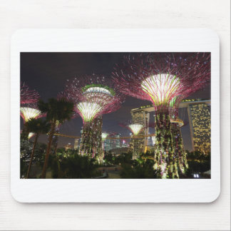 Gardens by the Bay Singapore Supertree Grove Mouse Pad