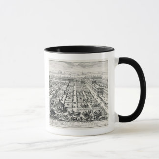 Gardens of the Quirinale, from 'Li Giardini di Rom Mug