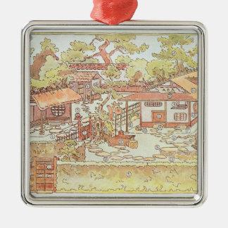 Gardens of Yuan Ming Yuan, Peking, 1783-86 (engrav Metal Ornament