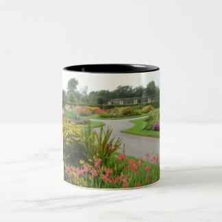 Gardens, Stanley Park, Blackpool Two-Tone Coffee Mug