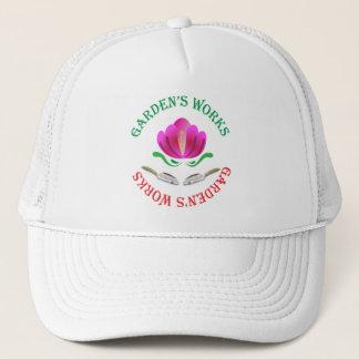 Garden's works trucker hat