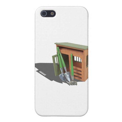 GardenShedTools030111 iPhone 5 Carcasa