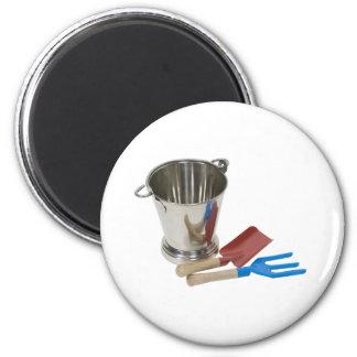 GardenToolsPail070109 2 Inch Round Magnet