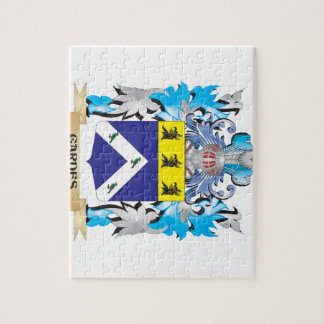 Gardes Coat of Arms - Family Crest Jigsaw Puzzles