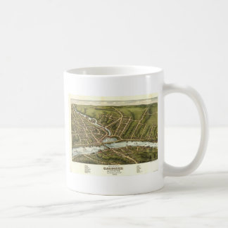 Gardiner and Pittston Maine in 1878 Coffee Mug