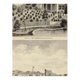 Gardiner res, Benicia Arsenal Postcard