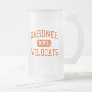 Gardner - gatos monteses - alto - Gardner Taza De Cristal