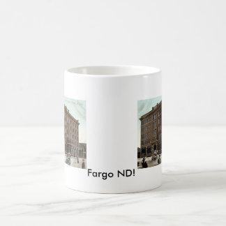 Gardner Hotel, Fargo ND Vintage 1910 Coffee Mug