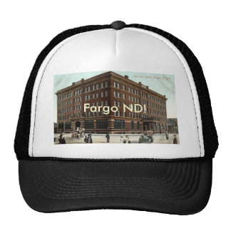 Gardner Hotel, Fargo ND Vintage 1910 Trucker Hat