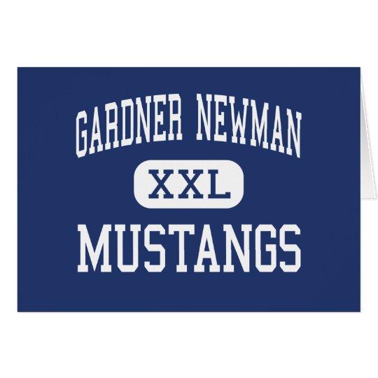 Gardner Newman Mustangs Middle La Grange Card