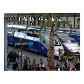 Gare de Lyon. París, Francia Postales