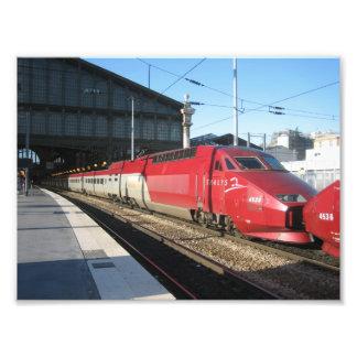 Gare du Nord Art Photo