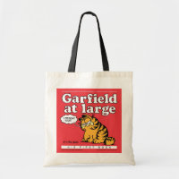 Garfield At Large Tote Bag bag