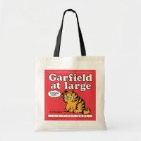 Garfield At Large Tote Bag bag