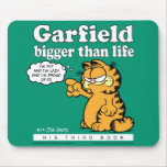 Garfield Bigger Than Life Mousepad