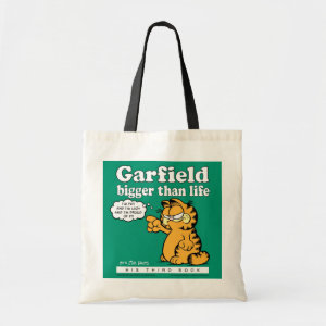 Garfield Bigger Than Life Tote Bag bag