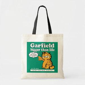 Garfield Bigger Than Life Tote Bag bag