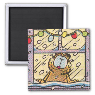 Garfield Christmas Eve Magnet