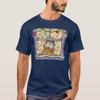 Garfield Christmas Eve Men's T-Shirt