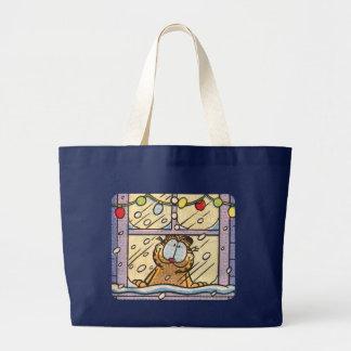 Garfield Christmas Eve Tote Bag