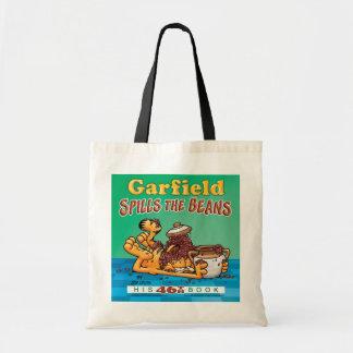 Garfield derrama la bolsa de asas de las habas