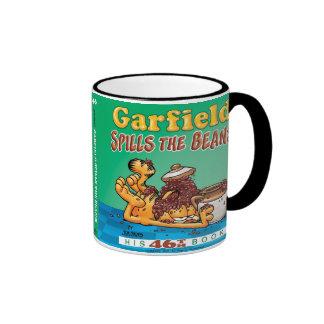 Garfield derrama la taza de las habas