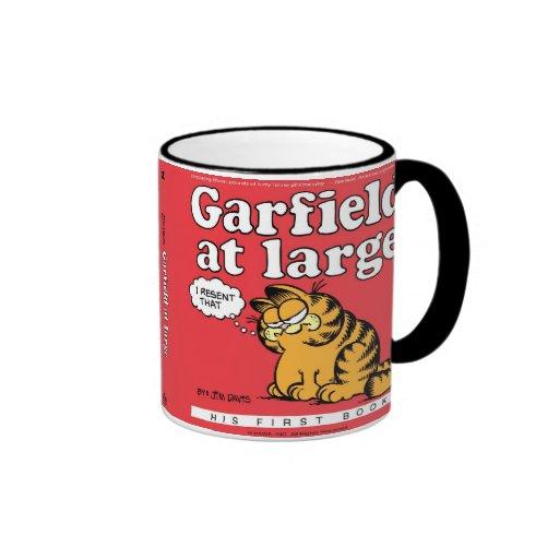 Garfield en la taza grande
