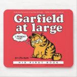 Garfield en Mousepad grande Tapetes De Ratones